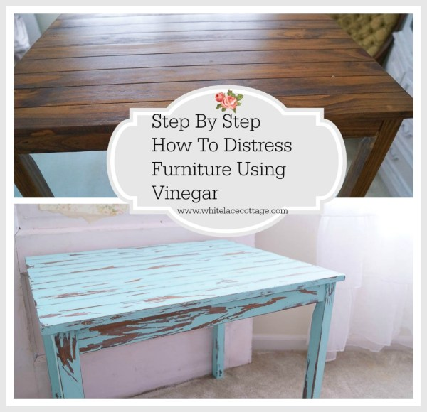 How to Distress Chalk Paint Furniture