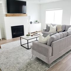 Basement Living Rooms Best Color To Paint Room Walls Daylight White Lane Decor I Have A Hard Time Deciding Which Aspect Like More Decorating Or Designing The Space When We First Drew Up Plans For This Knew Fireplace Was