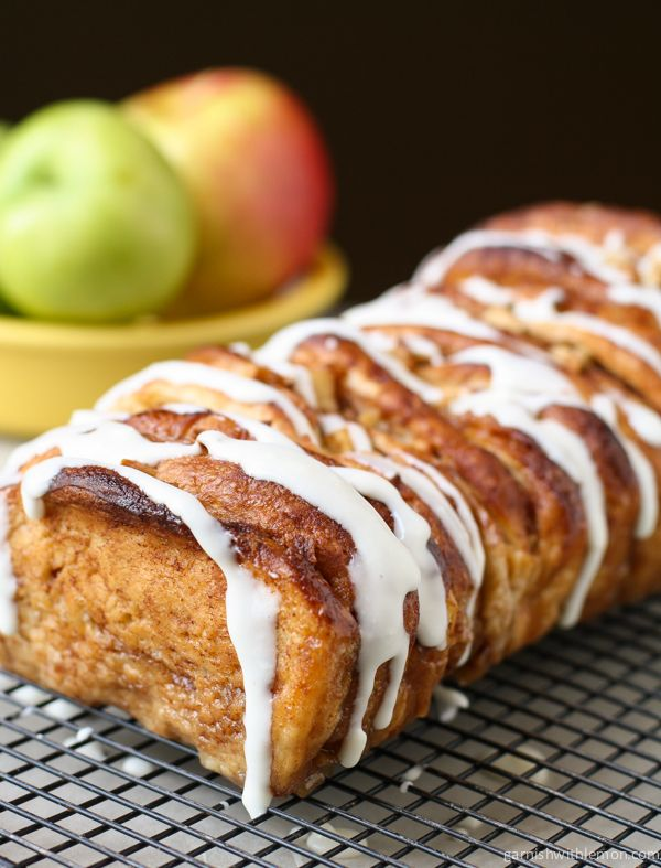 Apple Cinnamon Pull Apart Bread