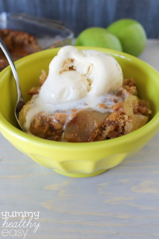Caramel Apple Pudding Cake