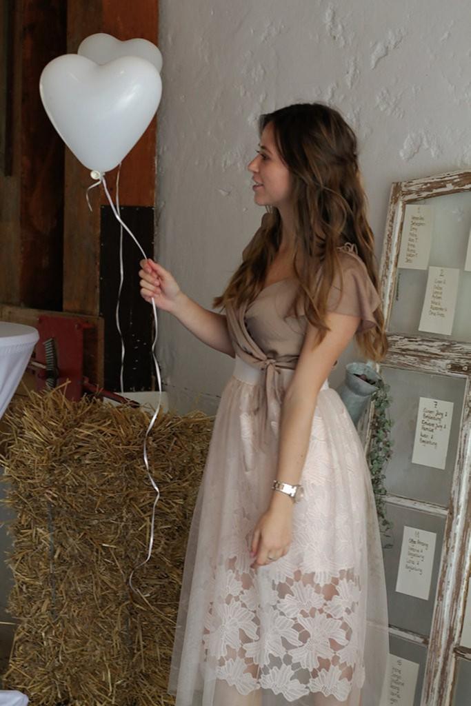 Outfit Sheer Skirt Hochzeitsgast look style blogger augsburg münchen fashion stylish
