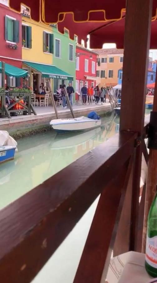 Burano - Atemberaubender Ausblick
