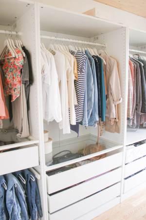 Offener Kleiderschrank  – Tipps um dein Ikea Schranksystem perfekt zu planen