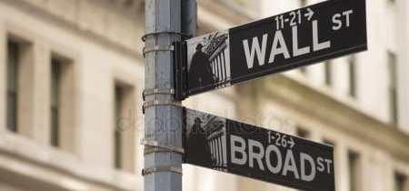 Depositphotos 4965933 Stock Photo Wall Street Sign