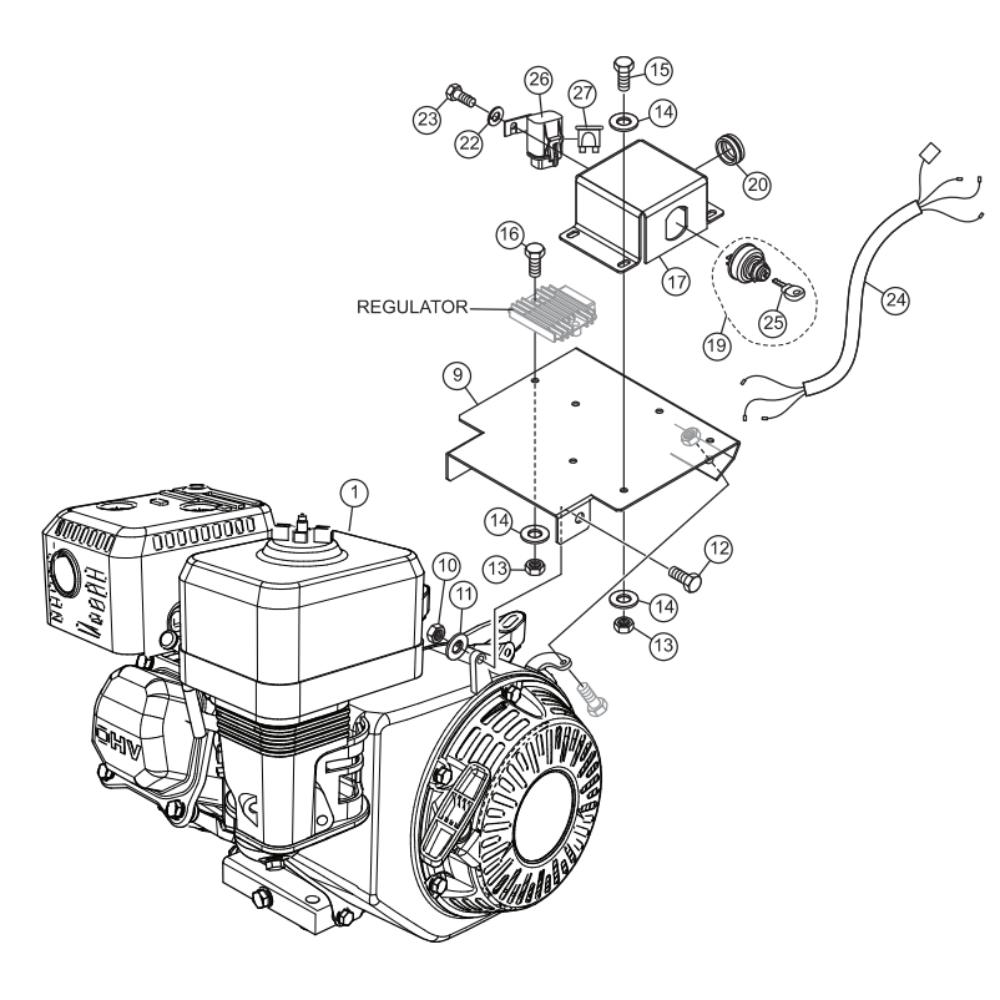 MultiQuip Whiteman WBH-16EF CE Power Buggy Parts