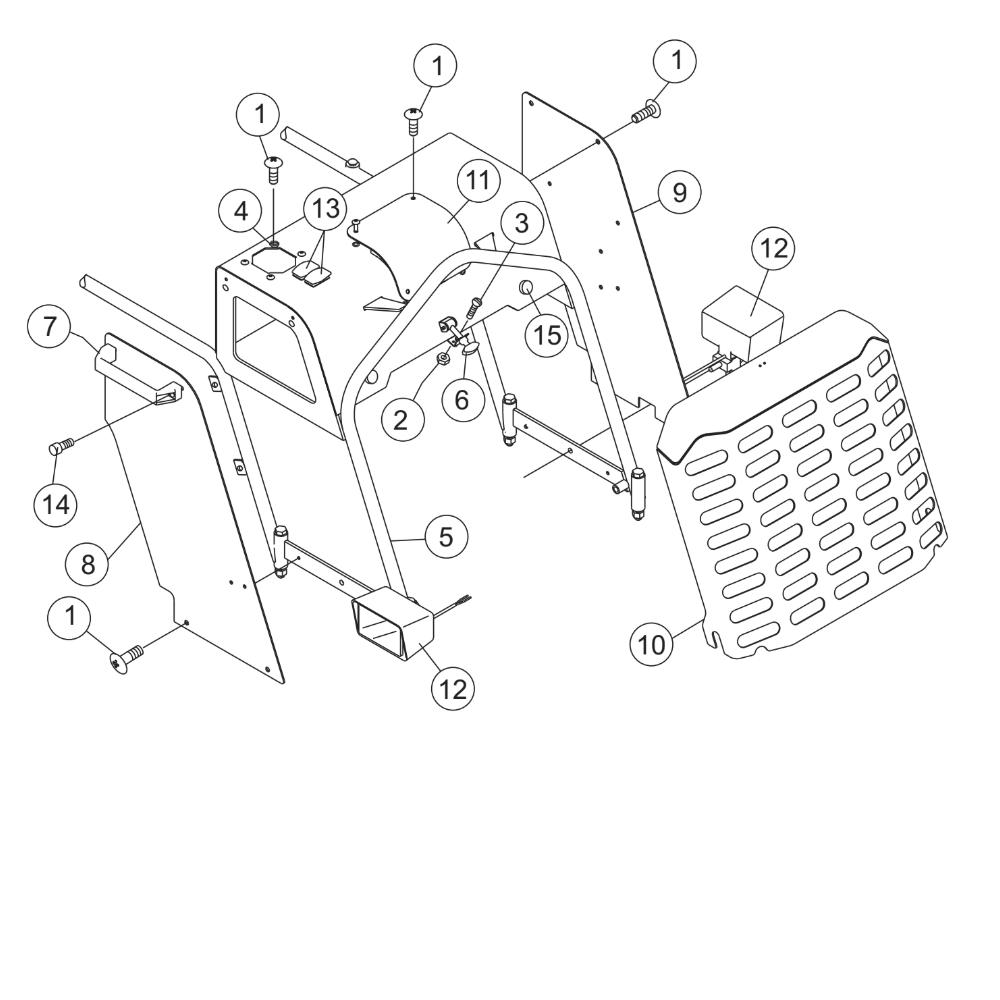 MultiQuip Whiteman STX55J6 RideOn Trowel Parts
