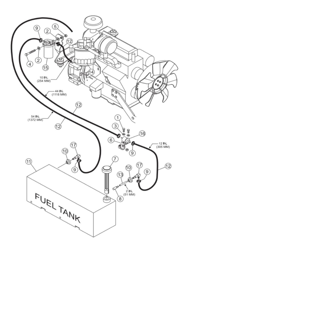 MultiQuip Whiteman STX55Y6 RideOn Trowel Parts