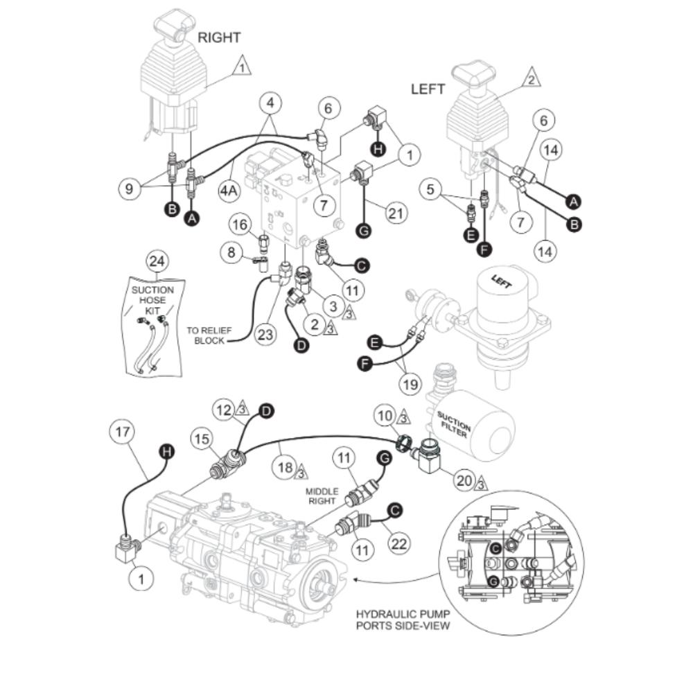 Multiquip Whiteman HTX-44Y5 YANMAR Ride On Trowel Parts