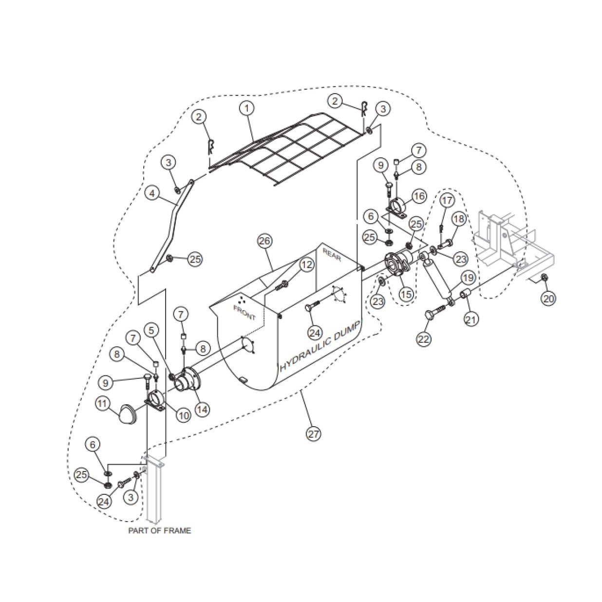 Multiquip Whiteman WM120SH Hydraulic Plaster/mortar Mixer