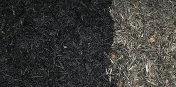bulk mulch - black gold white