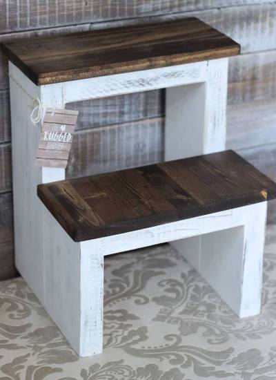 Build The Easiest Step Stool