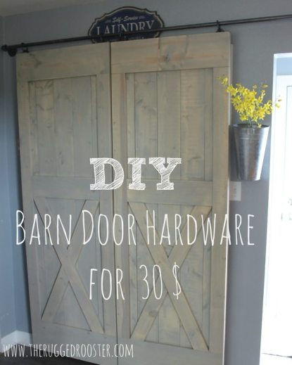 Easy Cheap Sliding Barn Door Hardware