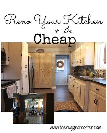 Renovate Your Kitchen For Under 500.00 - Step by Step Tutorial