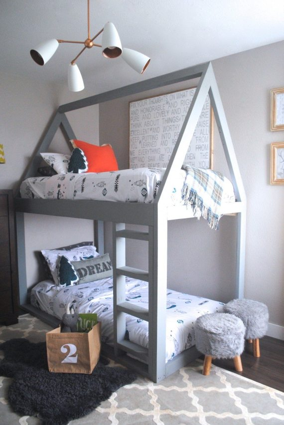 Land of Nod, Bedroom Reveal, House Bed
