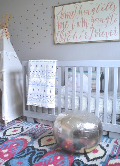 A Pretty In Pink Nursery