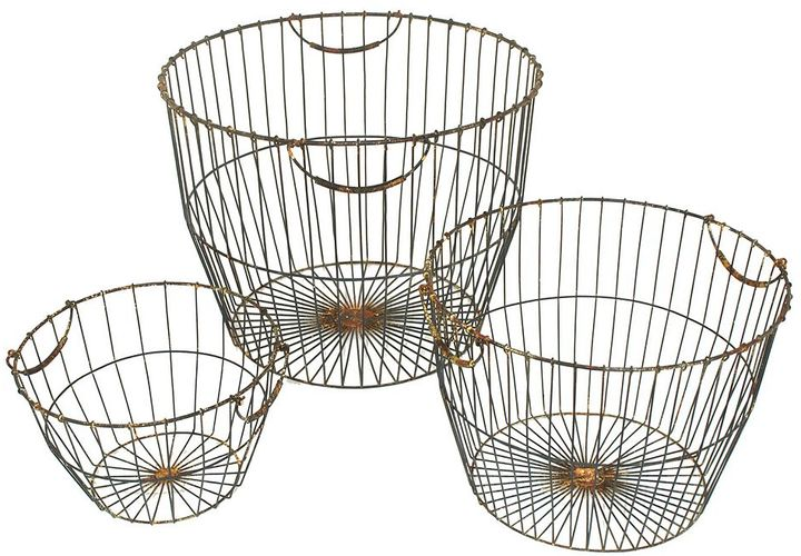 https://api.shopstyle.com/action/apiVisitRetailer?id=488373028&pid=uid7969-33980313-29 Wire Metal Baskets, top 10 farmhouse Decor