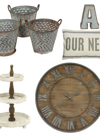 Cheap Farmhouse Decor Roundup