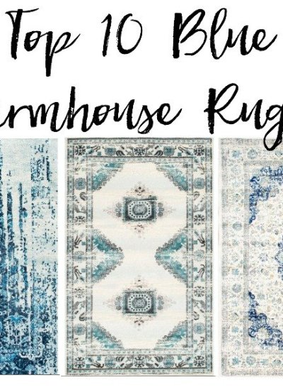 Top 10 Blue Farmhouse Rugs  [ That Wont Break The Bank ]