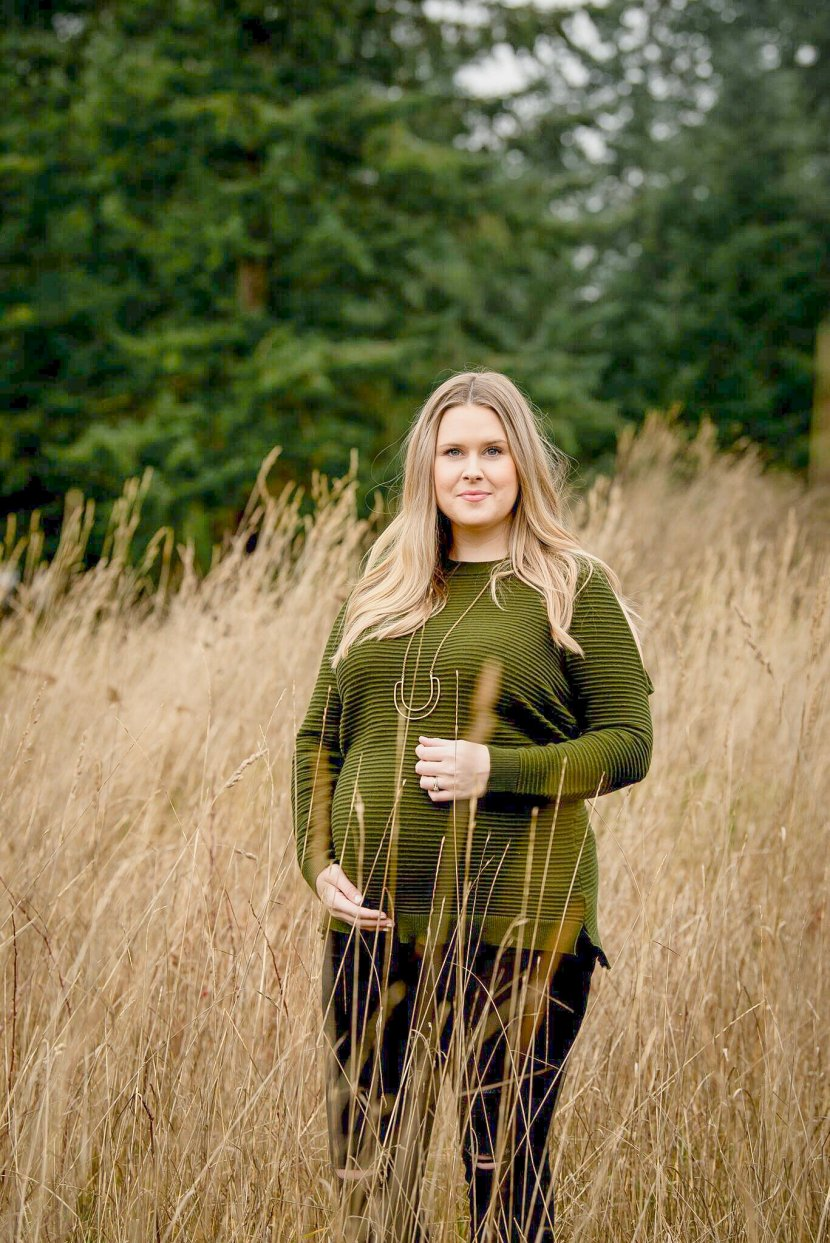 Maternity Session, Fourth Pregnancy and featuring Lilac Clothing and Pink Blush Clothing, Maternity Photography