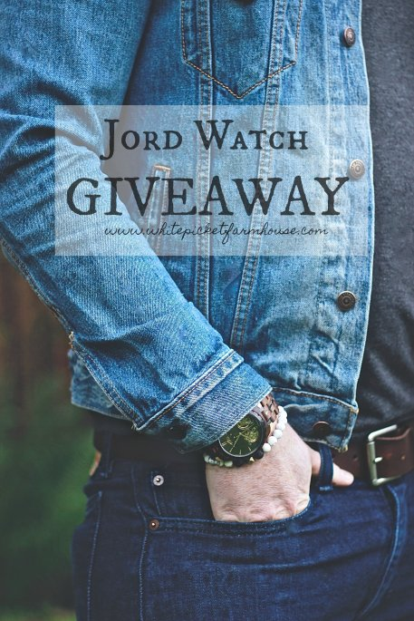 Jord Watch Giveaway. Giving Away 100.00 To One Lucky Winner. Open To Canada and United States. www.whitepicketfarmhouse.com #giveaway #JordWatches