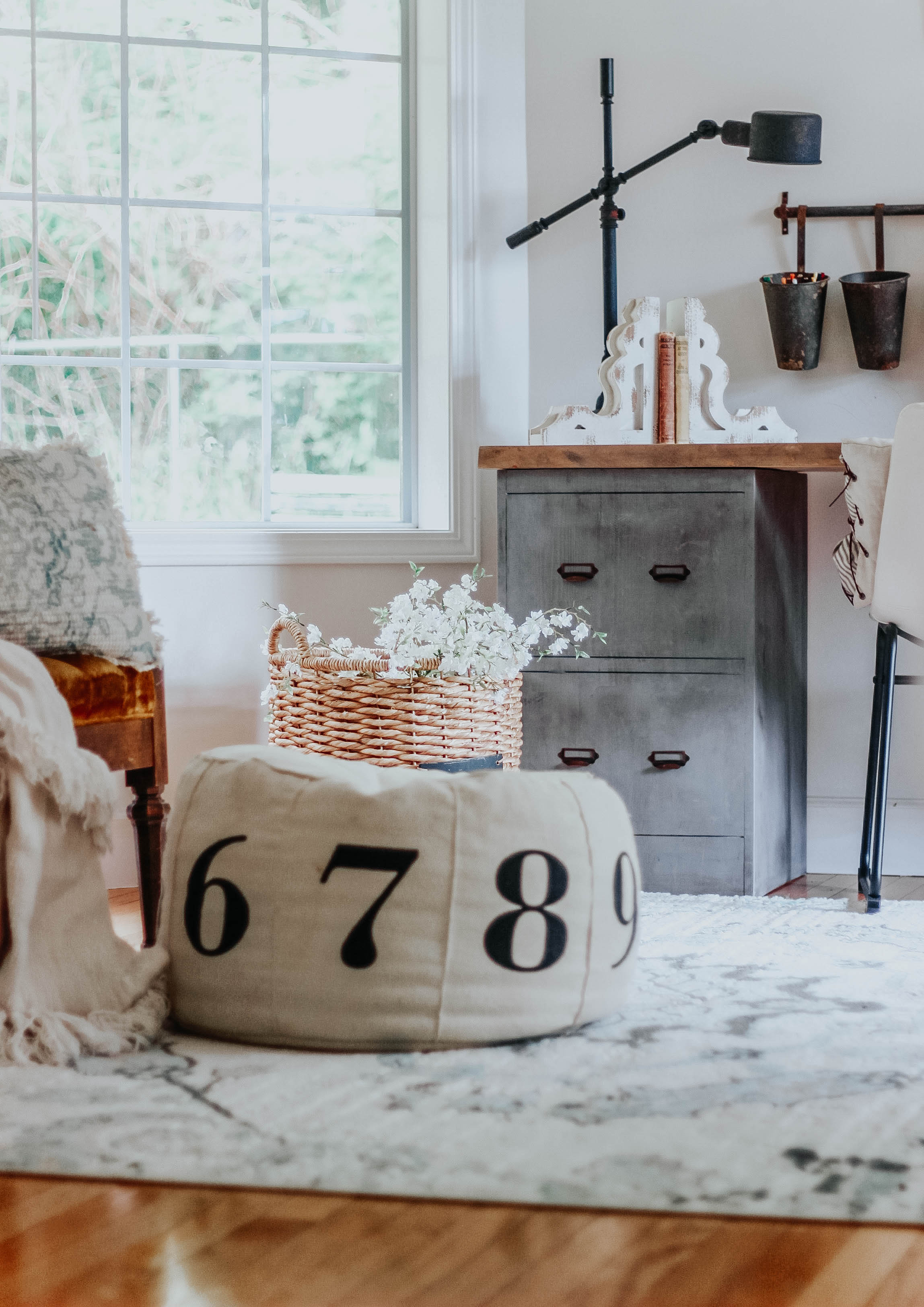 Magnolia Homes With Pier One. Decorating our Modern Farmhouse With Joanna Gaines New Line, #FarmhouseDecor #farmhouse www.whitepicketfarmhouse.com