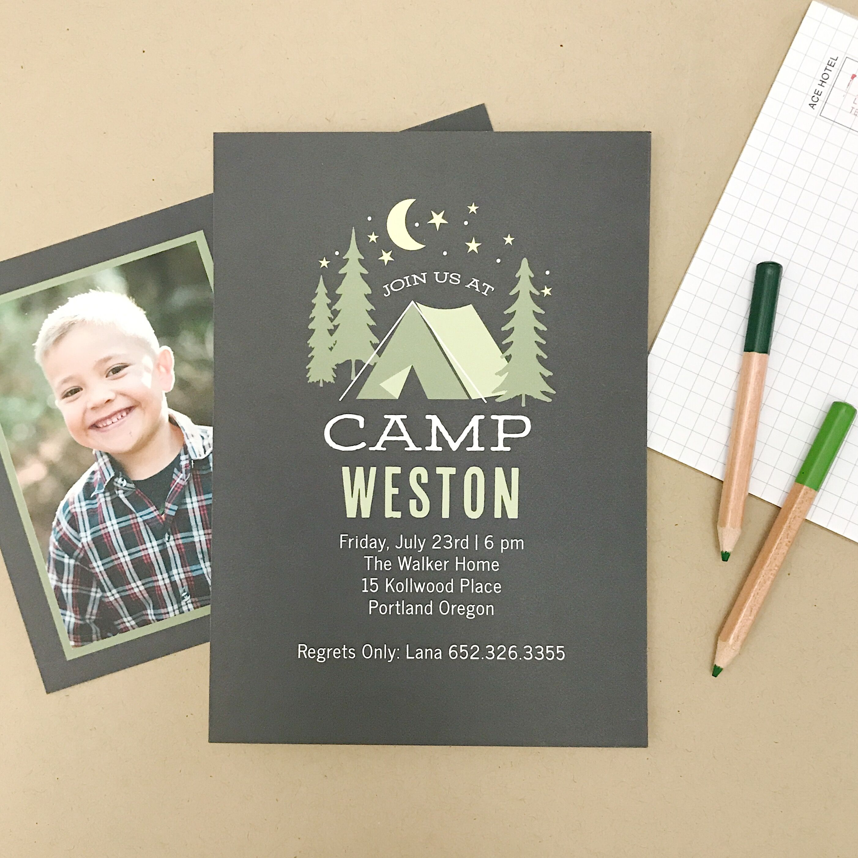 Beautiful Baby Invitations by basic invite