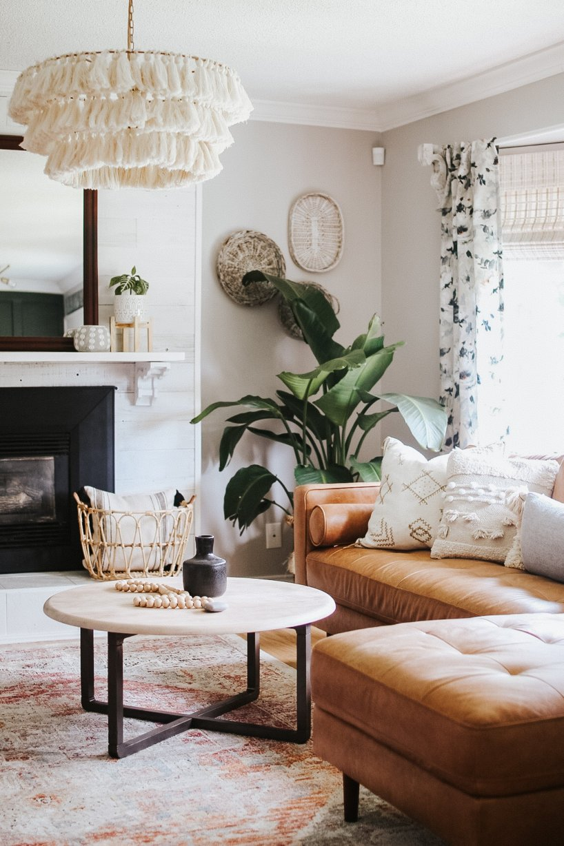 Change the decoration of your living room
