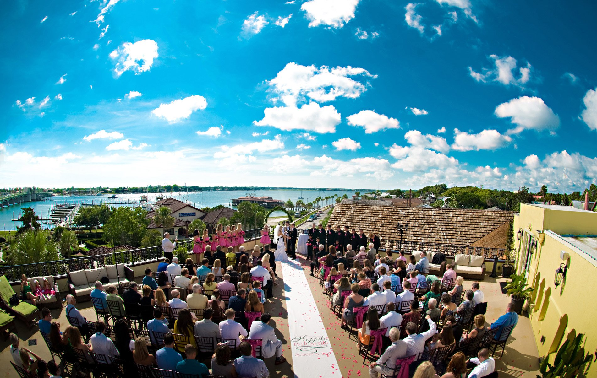 St Augustine Wedding Venue  The White Room
