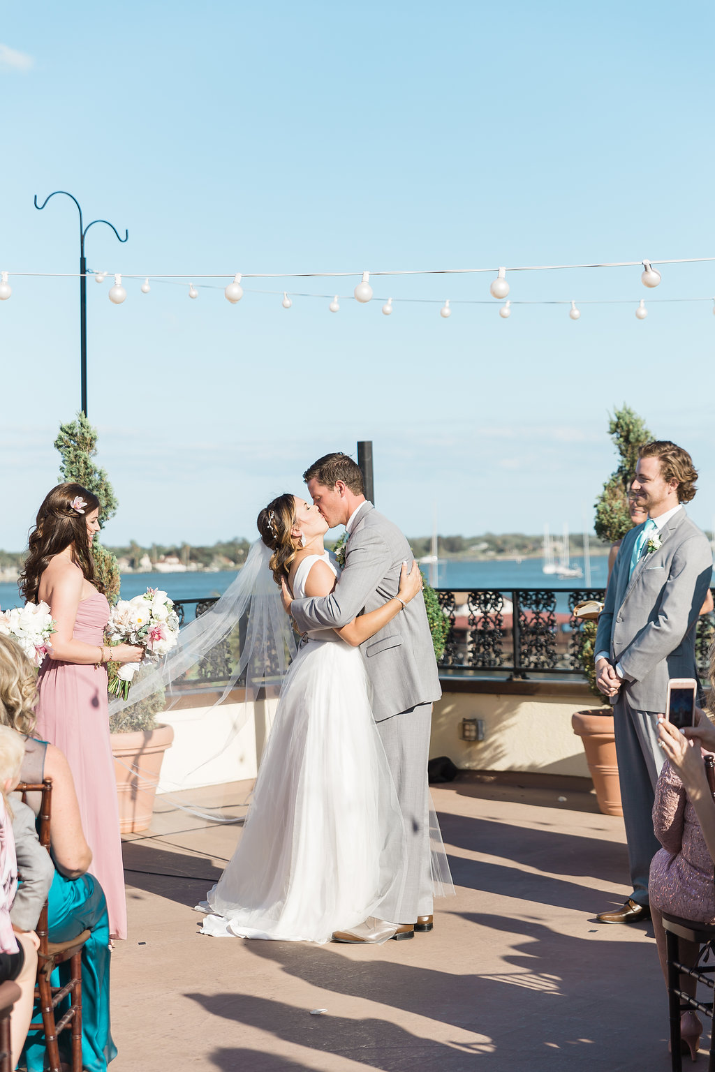 St Augustine Wedding on The White Room Rooftop  The