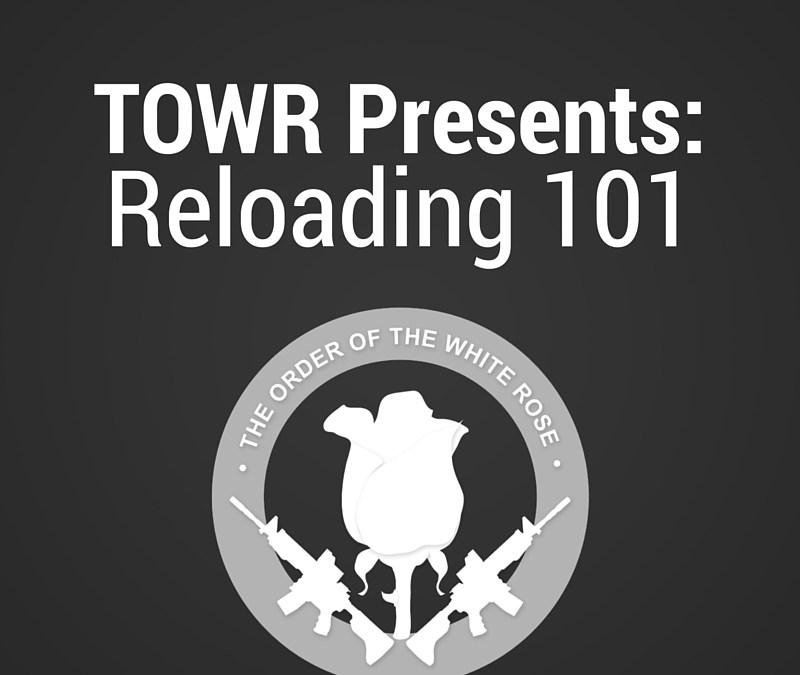 Metallic Reloading 101 Class