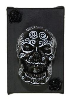 Black Muertos by Heather Miller of WhiteRosesArt.com
