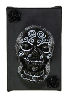 Black Muertos by Heather Miller of WhiteRosesArt.com