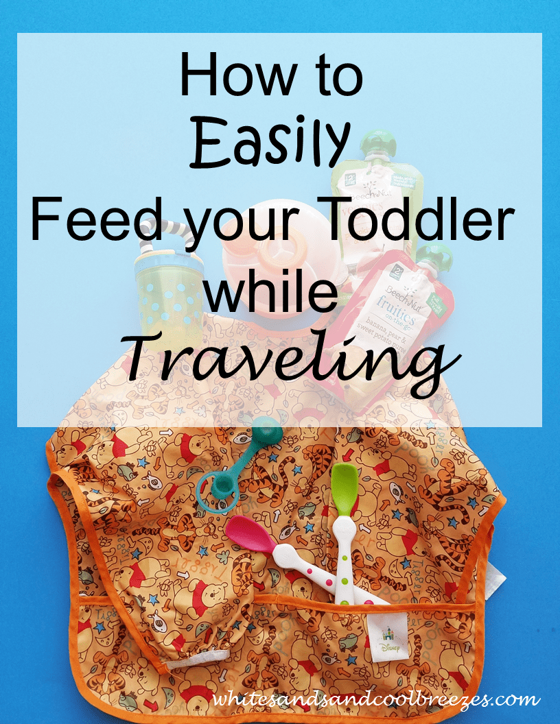 How to Easily Feed your Toddler while Traveling