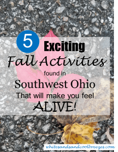5 Exciting Fall Activities found in Southwest Ohio that will make you feel ALIVE. Check these out!