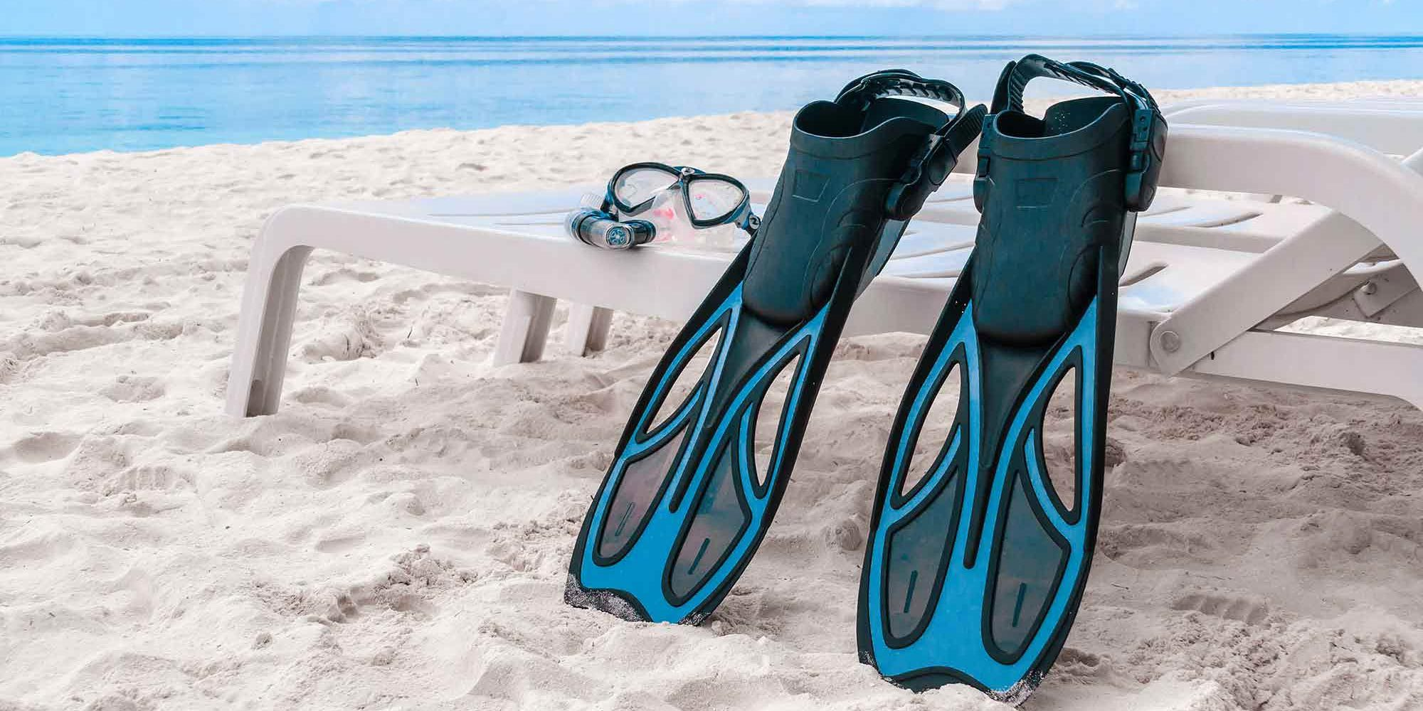 pinne da sub vs snorkeling