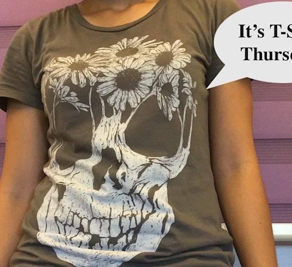 It's t-shirt Thursday!