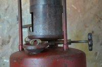 Plumber's Furnace Lamp - White's Modern Industrial