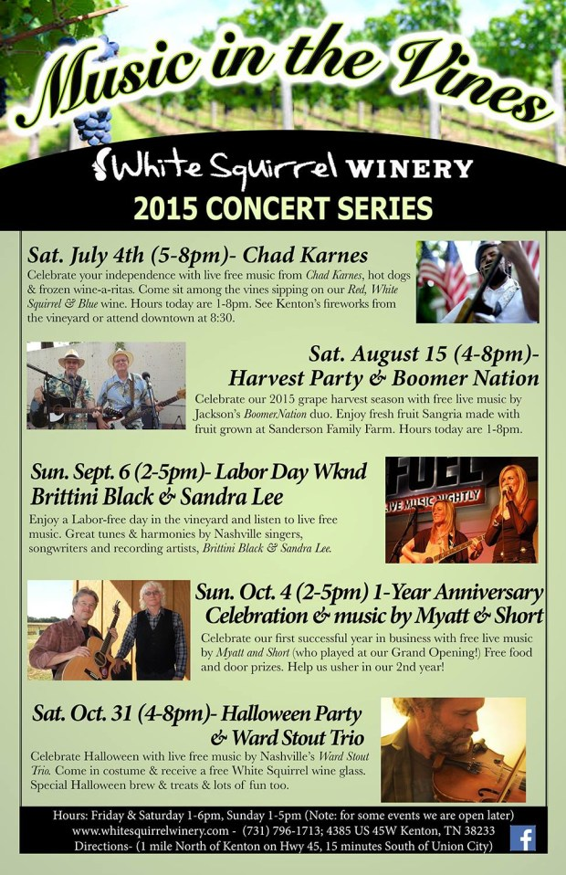 Music in the Vines2015