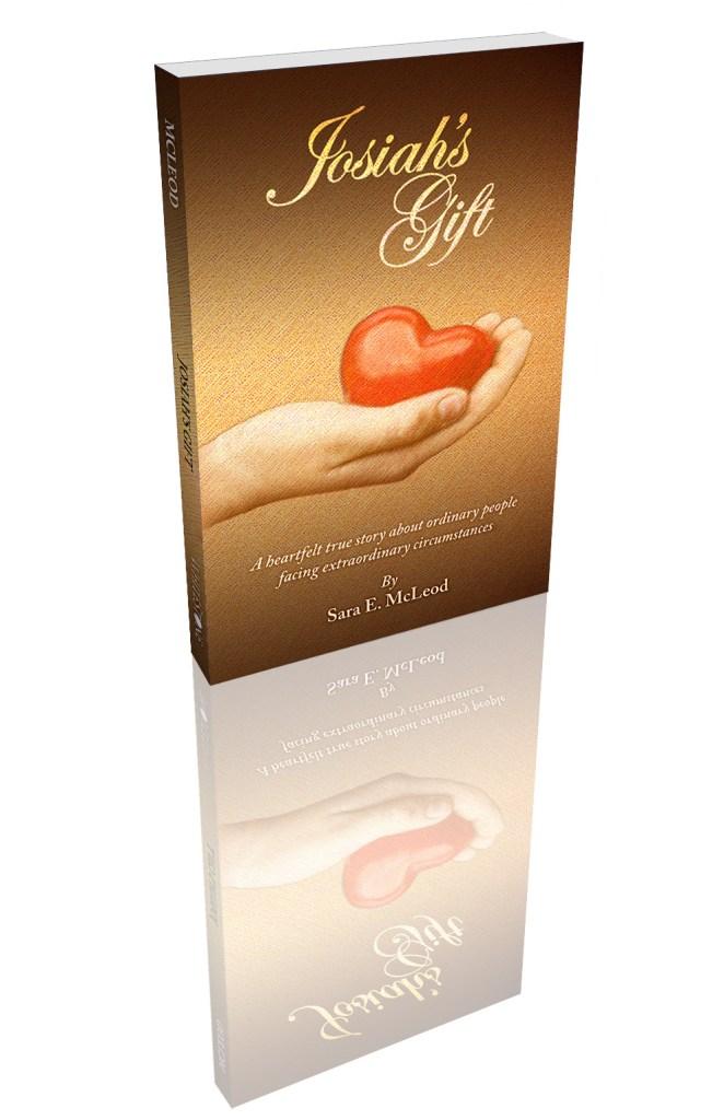 Josiah's Gift, paperback w reflection