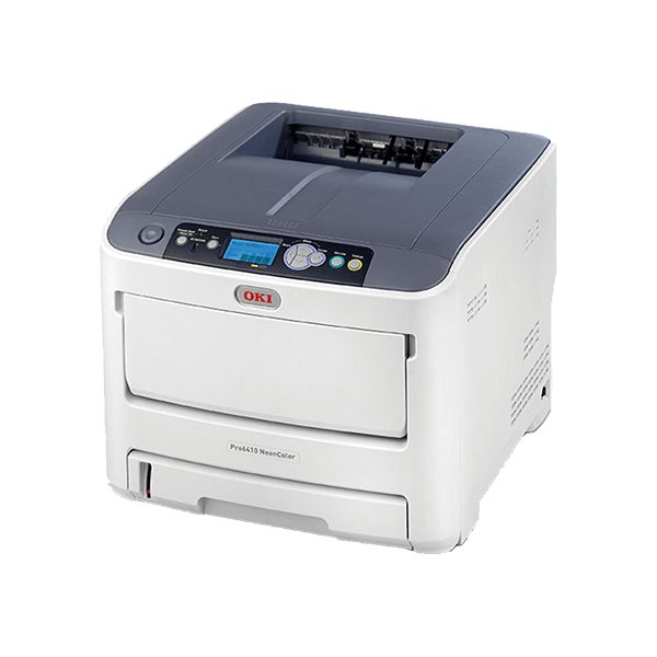 OKI White Toner Laser Printer the Pro6410 Neon - For FOREVER Digital Heat Transfer Papers