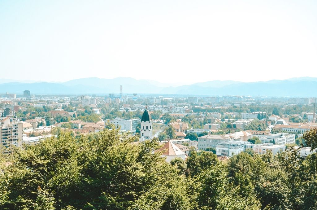 Panorama Lublany