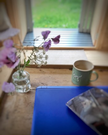 Blogging 1 240x300 - The Shepherds Hut - my very special place to blog
