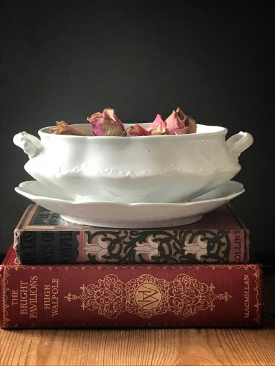 china tureen 225x300 - The Rose - Vintage and Thrifty Styling for the Home