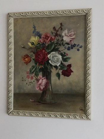flowers watercolour 2 225x300 - Paintings - Vintage and Thrifty Styling for the Home