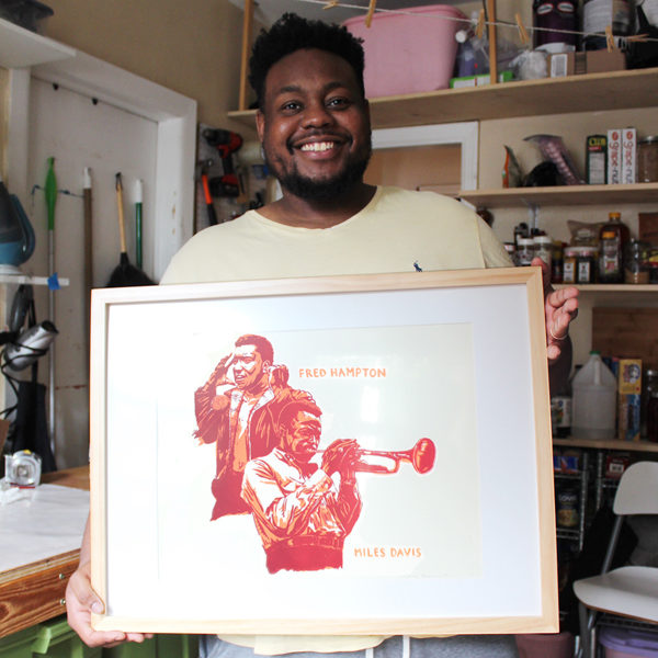 New Print: Miles Davis and Fred Hampton