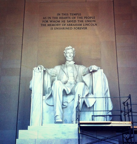 lincoln, memoria, washington, d.c., open, monument, national, mall, government, shutdown,