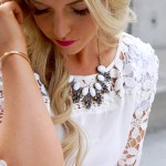 White Lacey Perfection// Support Families Affected By Childhood Cancer