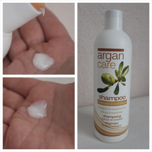 argan care shampoo Collage
