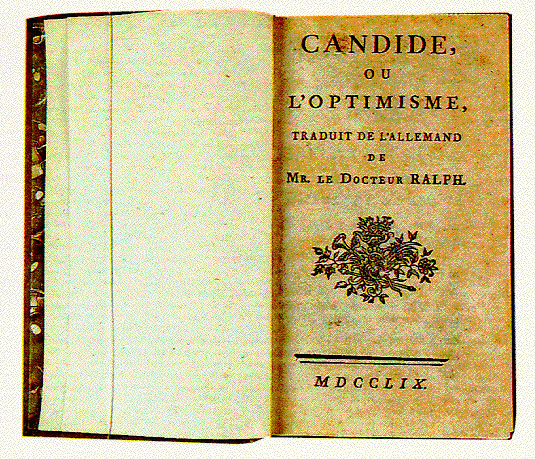 Resources for study of Candide