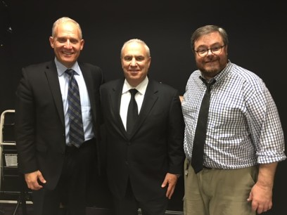 Phil Whitman with Joel Cooperman, CEO of Citrin Cooperman and Dan Hood, Editor in Chief, Accounting Today.